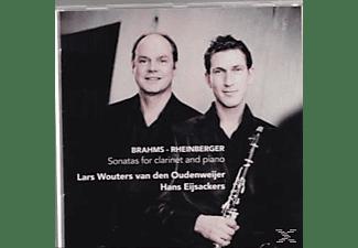 Wouters van den Oudenweijer, Lars & Eijsackers,Hans, Lars Wouters Van Den Oudenweijer - Sonatas For Clarinet & Piano  - (CD)