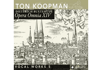 Amsterdamer Barockorchester, Ton Koopman - Opera Omnia XIV-Vocal Works Vol.5  - (CD)