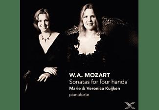 KUIJKEN,MARIE & KUIJKEN,VERONICA - Sonatas For Four Hands  - (CD)