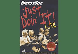 Status Quo - JUST DOIN IT! - LIVE  - (DVD)