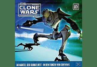 Star Wars - The Clone Wars 05: Im Mantel der Dunkelheit / In den Fängen von Grievous  - (CD)