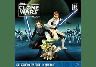 Star Wars - The Clone Wars 06: Die Ergreifung des Count / Der Freikauf  - (CD)