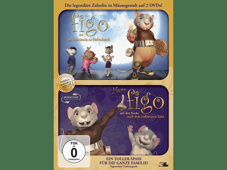 Herr Figo und das Geheimnis der Perlenfabrik / Herr Figo auf der Suche nach dem verlorenen Zahn [DVD]
