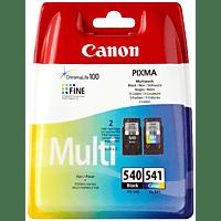 CANON PG 540 + CL 541 Tintenpatrone Multipack, mehrfarbig