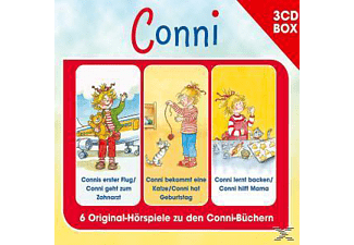 Conni - Conni-3-Cd Hörspielbox Vol.4  - (CD)