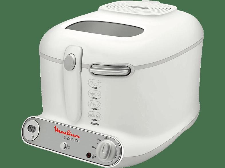 MOULINEX AM 3021 Super Uno Fritteuse  1800 Watt Weiß