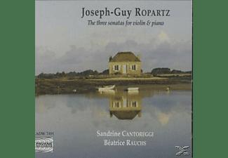 Sandrine Cantoreggi, Cantoreggi,Sandrine/Rauchs,Beatrice - Ropartz:3 Violinsonaten  - (CD)
