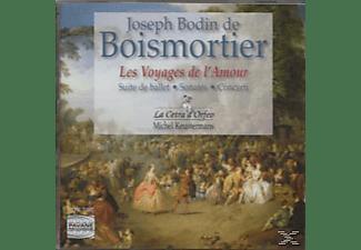 La Cetra D Orfeo, Keustermans/La Cetra D'Orfeo - Boismortier:Voyages De L'Amour  - (CD)