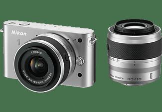 Cámara Evil - Nikon J1 Plata + 10-30 VR + 30-110 VR