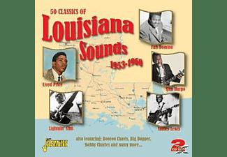 VARIOUS - 50 CLASSICS OF LOUISIANA SOUNDS  - (CD)