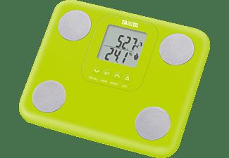 Báscula de baño - Tanita BC-730 Verde Peso máximo 150kg, Precisión de 100g, Función memoria,
