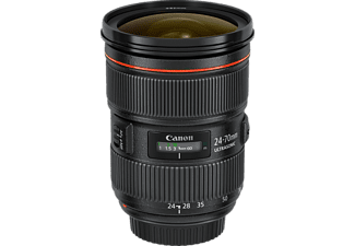 CANON EF II USM 24 mm - 70 mm f/2.8 USM (Objektiv für Canon EF-Mount, Schwarz)