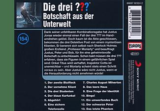 Die drei ??? 154: Botschaft aus der Unterwelt  - (CD)
