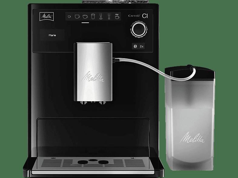 MELITTA E 970-103 Caffeo CI Kaffeevollautomat Schwarz
