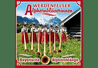 Werdenfelser Alphornbläserinnen - Bayerische Alphornkänge  - (CD)
