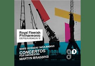 M. & ROYAL FLEMISH PHILHARMONIC Brabbins - Concertos For Orchestra  - (CD)