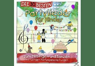 Karsten Glück & Die Kita-frösche Simone Sommerland - Die 30 Besten Partylieder Für Kinder [CD]
