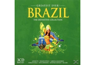 VARIOUS - Brazil-Greatest Ever  - (CD)