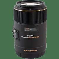SIGMA 258955 105 mm f/2.8 EX, DG, HSM, OS (Objektiv für Nikon F-Mount, Schwarz)