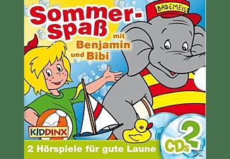 - Bibi Blocksberg/Benjamin Blümchen: Sommerspaß mit Benjamin und Bibi  - (CD)