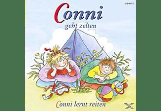 - Conni 4: ... geht zelten & Conni lernt reiten  - (CD)