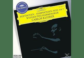 Wpo, Carlos/wp Kleiber - Sinfonien 5, 7  - (CD)