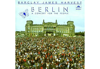 Barclay James Harvest - BERLIN - A CONCERT FOR THE PEOPLE  - (CD)