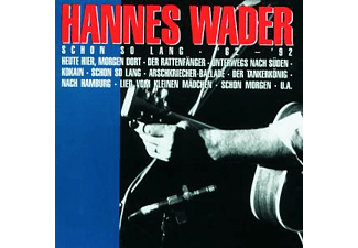 Hannes Wader - SCHON SO LANG 62-92  - (CD)
