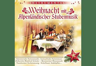 VARIOUS - Weihnacht mit Alpenländischer Stubenmusik  - (CD)