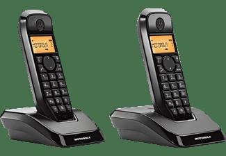 Teléfono - Motorola S1202 Dúo Negro con Manos libres