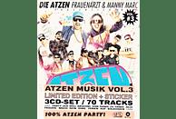 Die Atzen, Frauenarzt, Manny Marc - Präsentieren Atzen Musik Volume 3 (Limited) [CD]