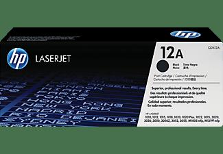 Tóner - HP 12A LaserJet, Negro, Q2612A