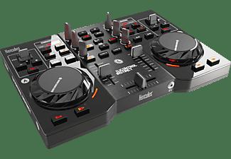 Controladora DJ - Hercules DJControl Instinct, USB, 2 decks, negro