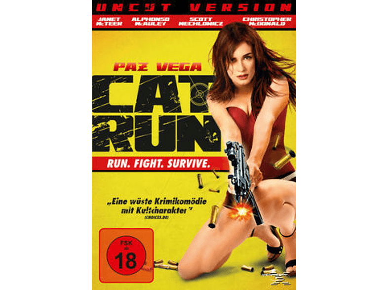 Cat Run - Uncut Version [DVD]