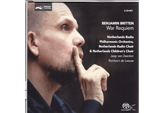 Netherlands Radio Philharmonic, Jaap Van Zweden - War Requiem  - (CD)