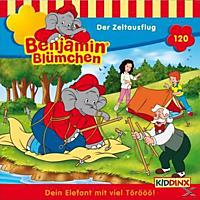 Benjamin Blümchen - Folge 120: Der Zeltausflug  - (CD)