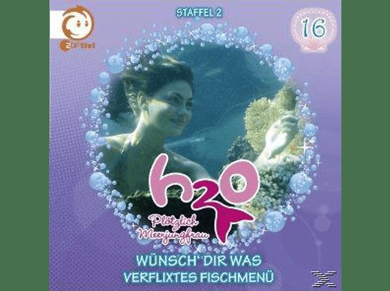 H2o-Plötzlich Meerjungfrau 16: Wünsch' Dir Was - (CD)