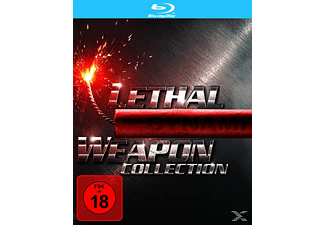 LETHAL WEAPON 1-4 [Blu-ray]