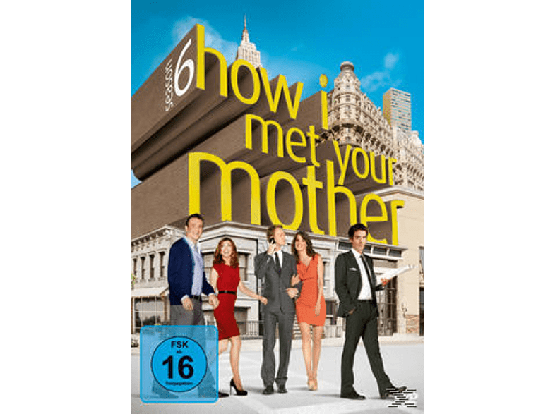 How I Met Your Mother - Staffel 6 [DVD]