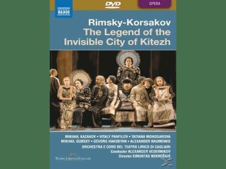 VARIOUS, Vedernikov/Kazakov/Panfilov - Legende Von Der Unsichtbaren Stadt Kitezh [DVD]