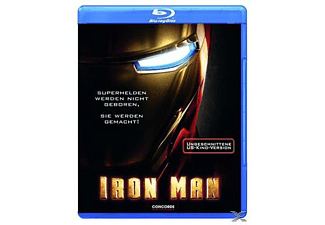 Iron Man (Ungeschnittene US-Kino Version) - (Blu-ray)