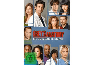 Grey's Anatomy - Staffel 3 [DVD]