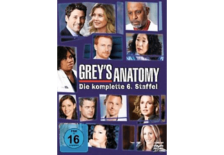 Grey's Anatomy - Staffel 6 [DVD]