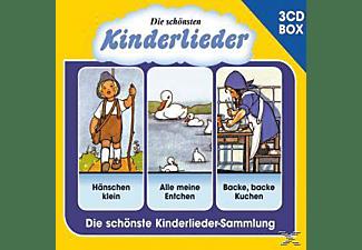 VARIOUS - Die Schönsten Kinderlieder - 3 Cd Liederbox Vol.1  - (CD)