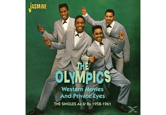 The Olympics - WESTERN MOVIES AND PRIVATE EYES  - (CD)