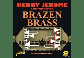 Henry Jerome, Henry & His Orchestra Jerome - BRAZEN BRASS  - (CD)