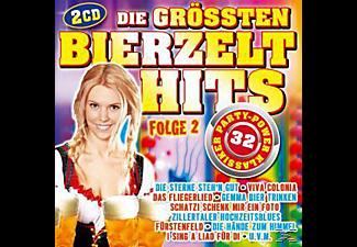 VARIOUS - Die größten Bierzelthits Folge 2  - (CD)