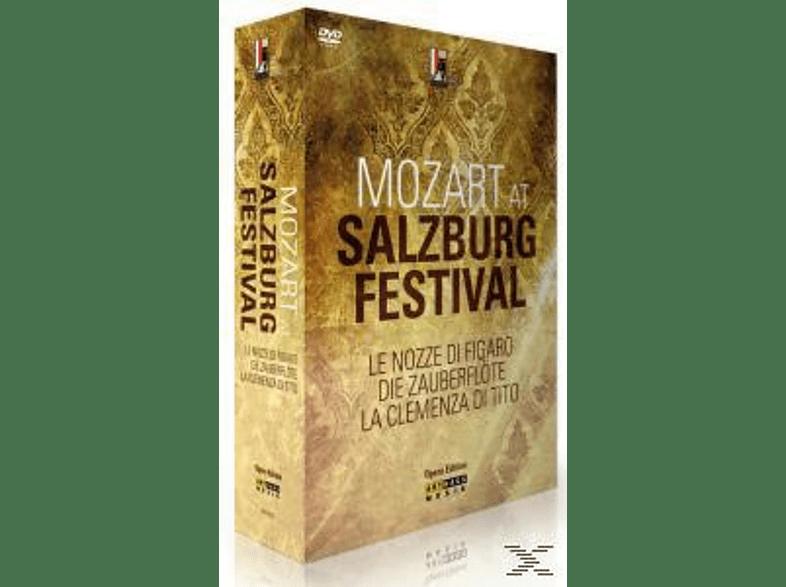 VARIOUS - Mozart At Salzburg Festival [DVD]