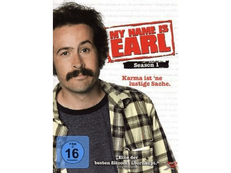 My Name Is Earl - Season 1 DVD-Box [DVD]