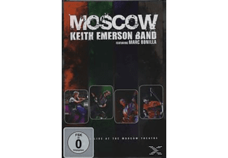Keith Emerson Band, Marc Bonilla - Moscow  - (DVD)